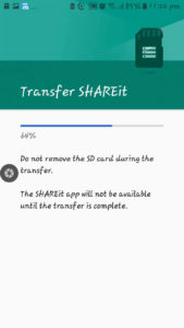 Transfer Apps from Phone to SD Card (Step 8)