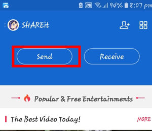 How To Move Apps From Android To Android Using Share It 2019 Tricks(step 3)