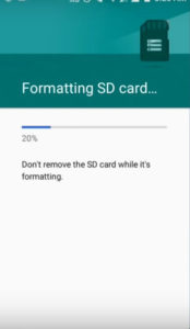 How To Use SD Card As Internal Memory On Android Without Rooting 2019 trick (step 8)
