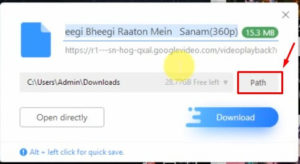 Download YouTube Videos Using UC Browser In PC 2019 step 4