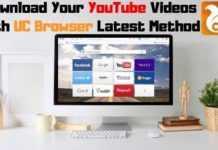 How To Download YouTube Videos Using UC Browser In PC 2019