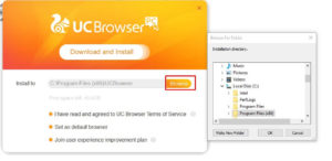 how to download UC browser 2019 step 4