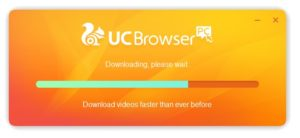 how to download UC browser 2019 step 6