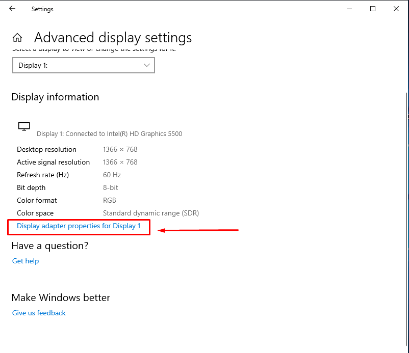 Check Graphic Card Memory In Windows 10 Method 3