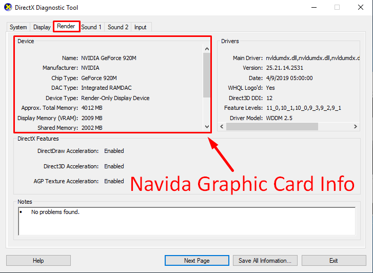 How To Check Nvidia Graphics Card In Windows 7 8 and 10