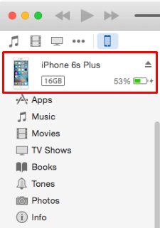 How To Backup iPhone Contacts To iTunes Step 3