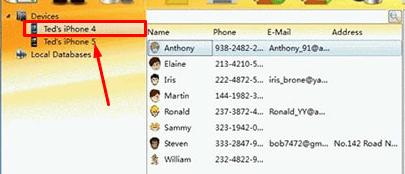 How To Backup iPhone Contacts With Third-Party Software step 1