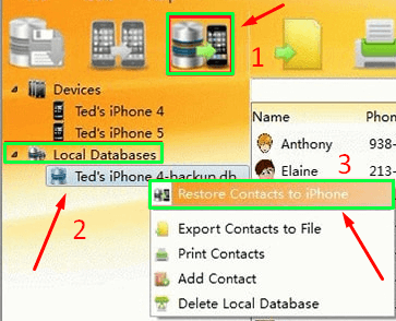 How To Backup iPhone Contacts With Third-Party Software step 4