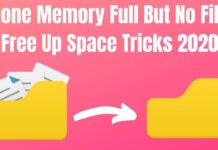 Phone Memory Full But No Files Free Up Space 2020